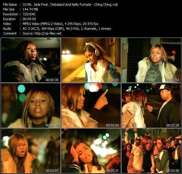 Ms. Jade Feat. Timbaland And Nelly Furtado video screenshot