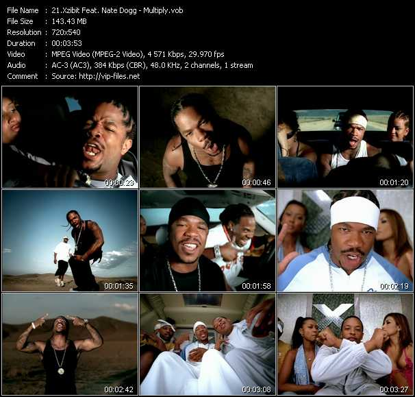 Xzibit Feat. Nate Dogg video screenshot