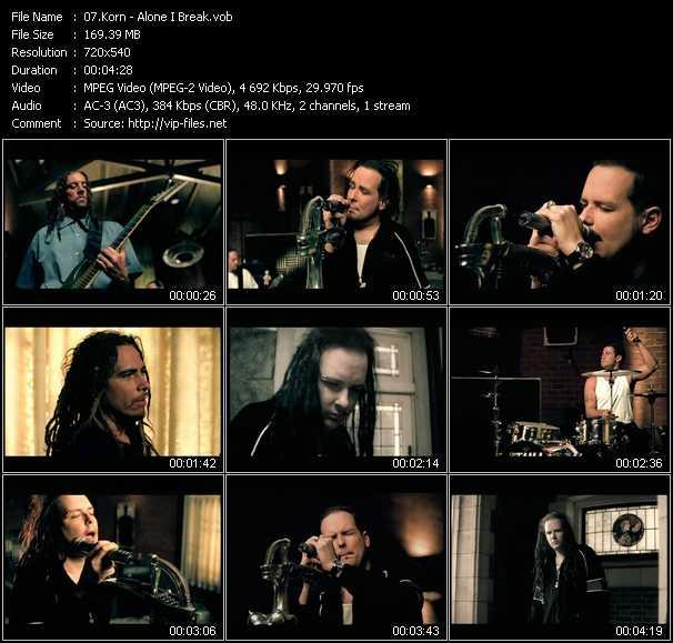 Korn video screenshot