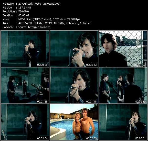 Our Lady Peace video screenshot
