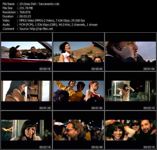 video Sacramento screen
