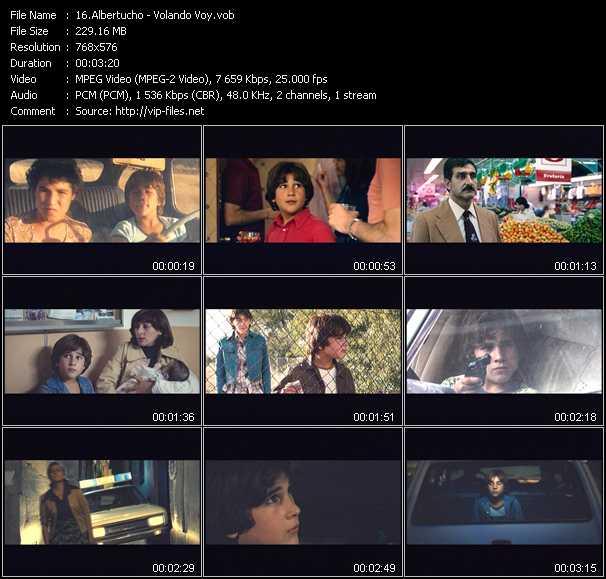 Albertucho video screenshot