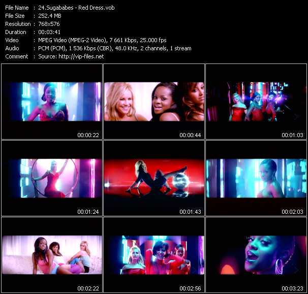 video Red Dress screen