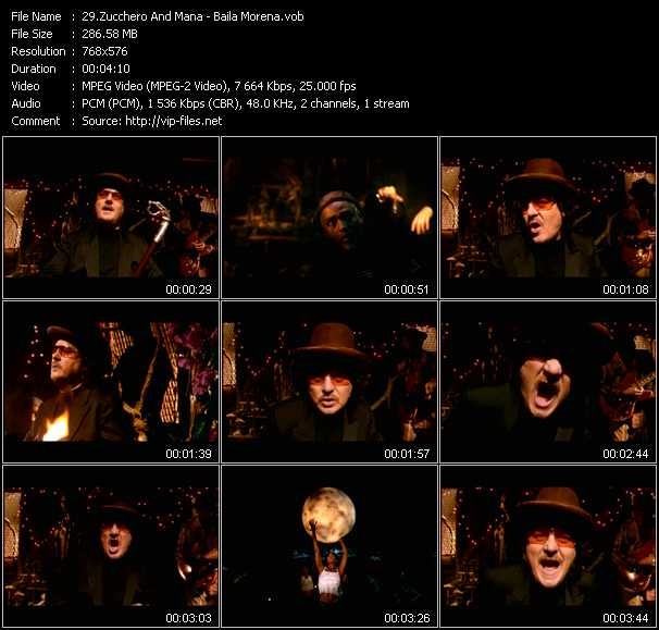 Zucchero And Mana video screenshot