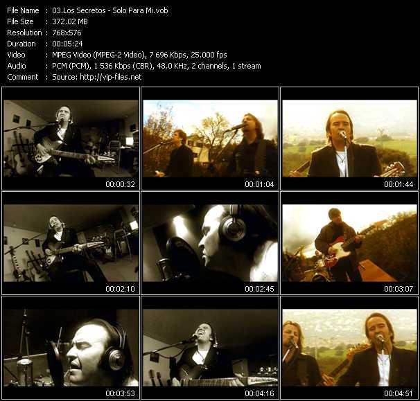 Los Secretos video screenshot