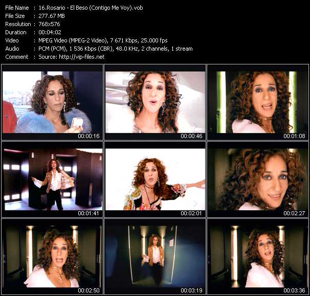 Rosario (Rosario Flores) video screenshot