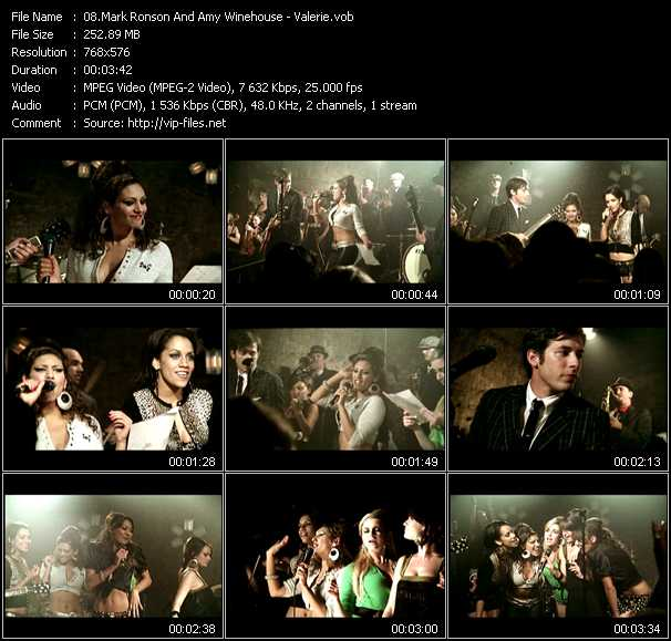 Mark Ronson And Amy Winehouse video screenshot