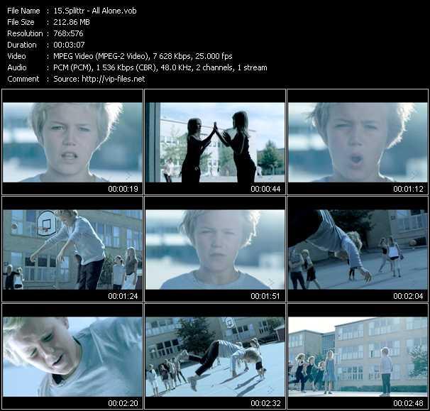 Splittr video screenshot