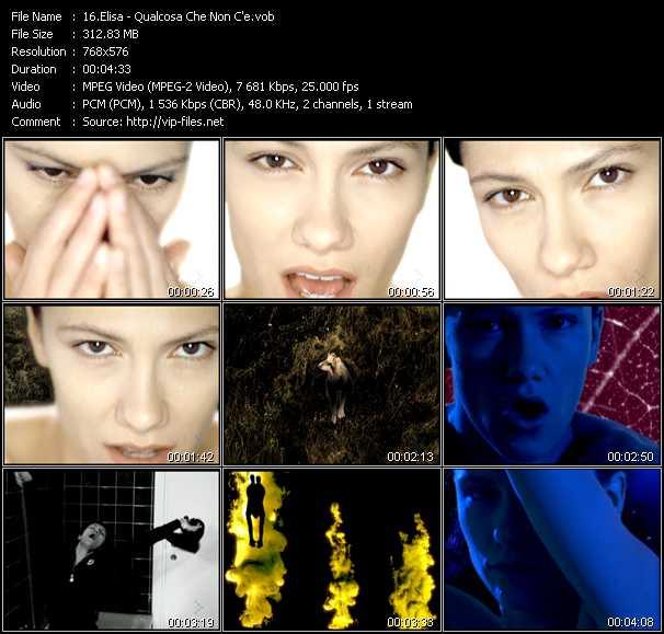 Elisa video screenshot