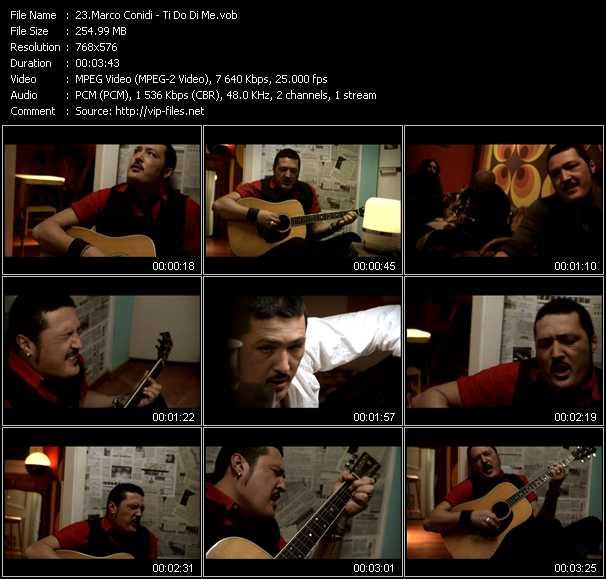 Marco Conidi video screenshot