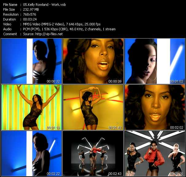 Kelly Rowland video screenshot