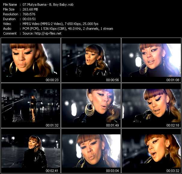 Mutya Buena video screenshot