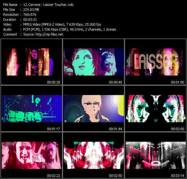Cerrone video screenshot