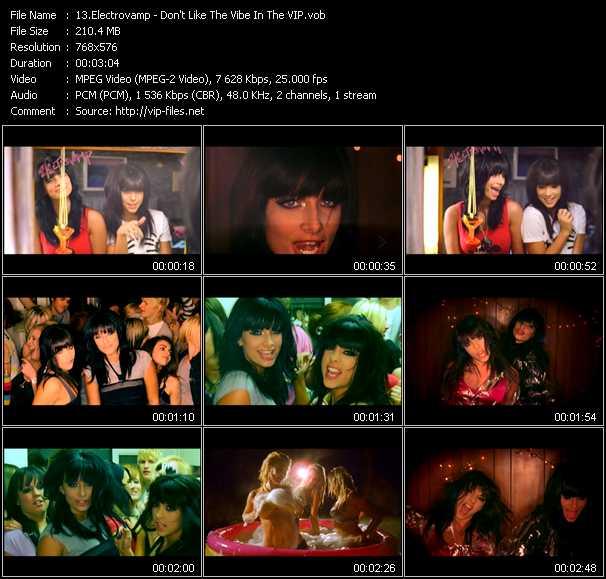 Electrovamp video screenshot