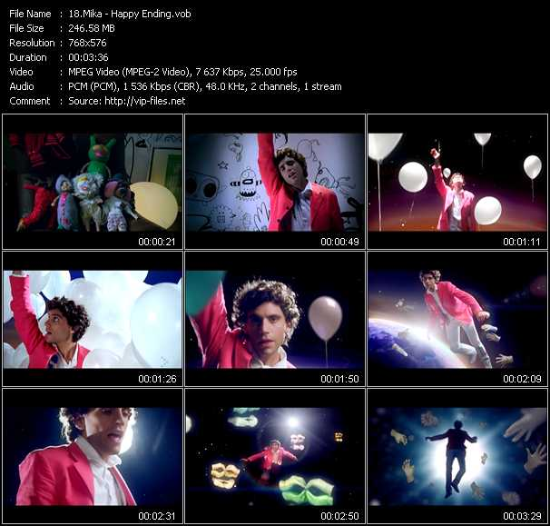 Mika video screenshot