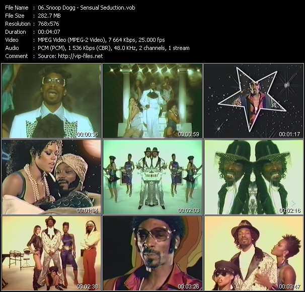Snoop Dogg video screenshot
