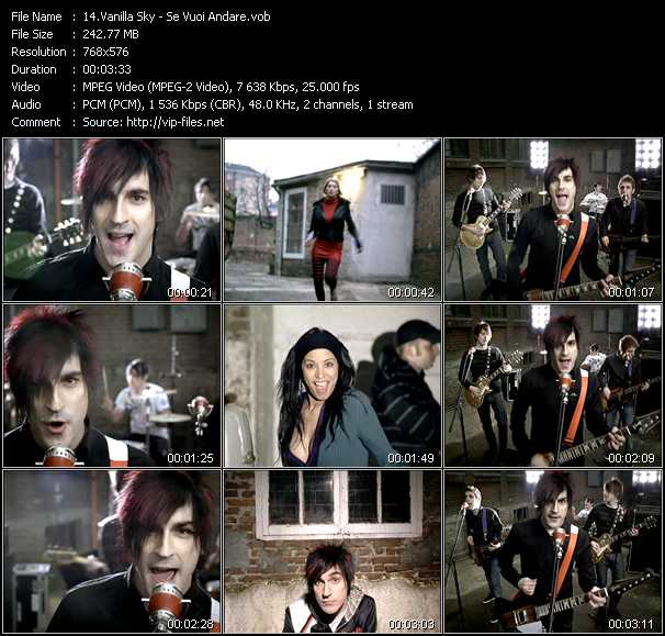 Vanilla Sky video screenshot