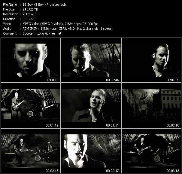 Boy Kill Boy video screenshot