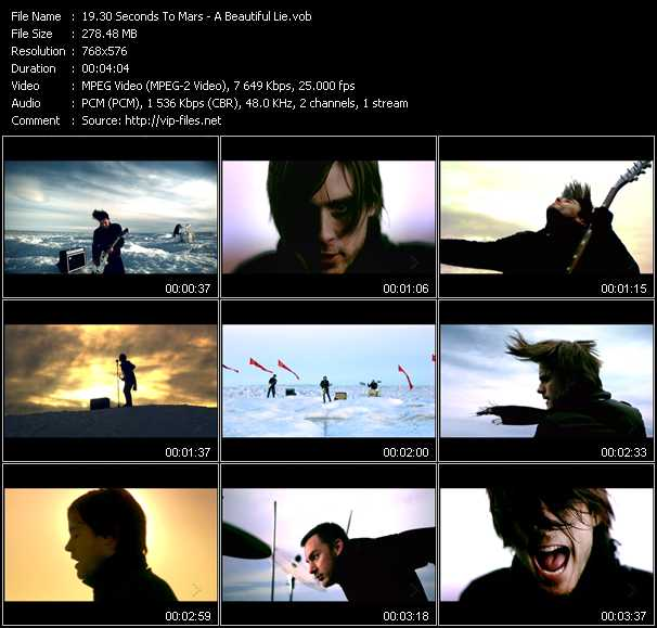 30 Seconds To Mars video screenshot