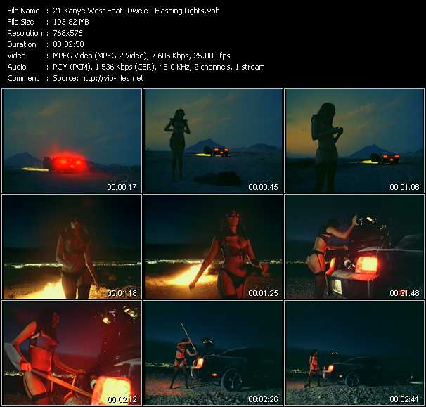 Kanye West Feat. Dwele video screenshot