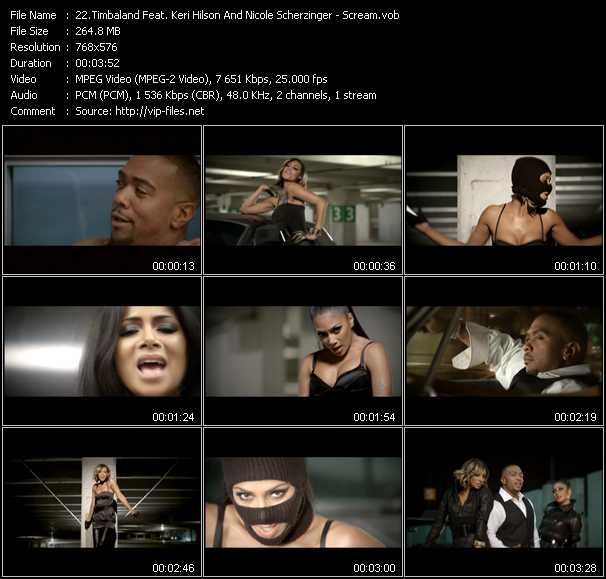 Timbaland Feat. Keri Hilson And Nicole Scherzinger video screenshot