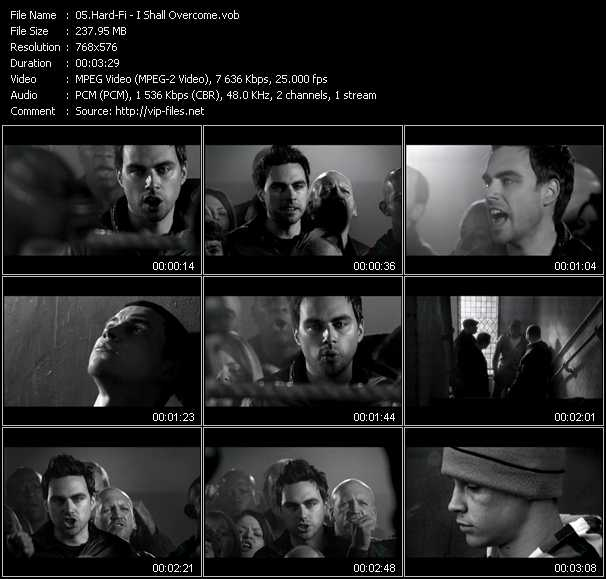 Hard-Fi video screenshot