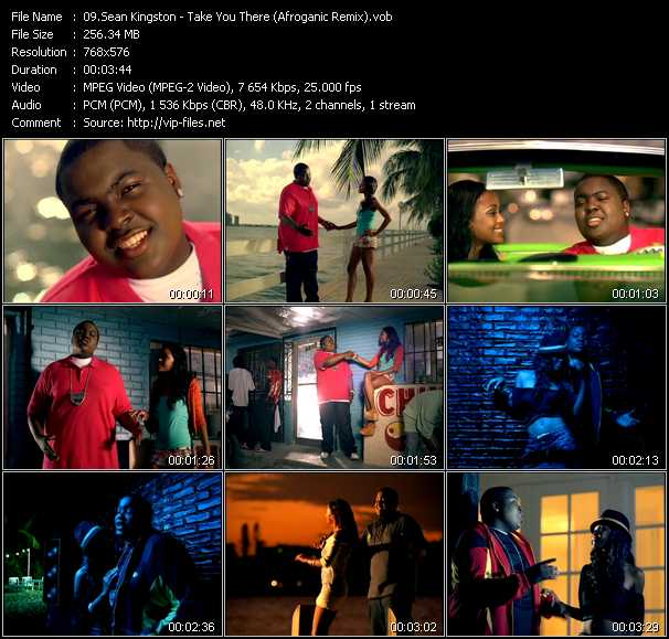 Sean Kingston video screenshot
