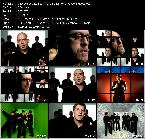 Neri Per Caso Feat. Mario Biondi video screenshot