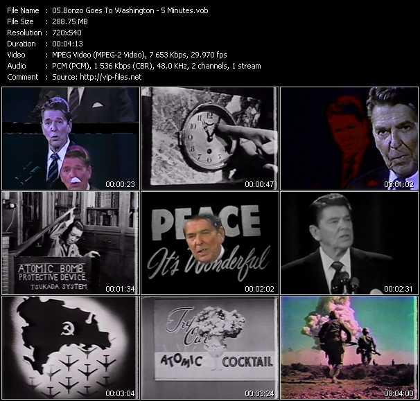 Bonzo Goes To Washington video screenshot