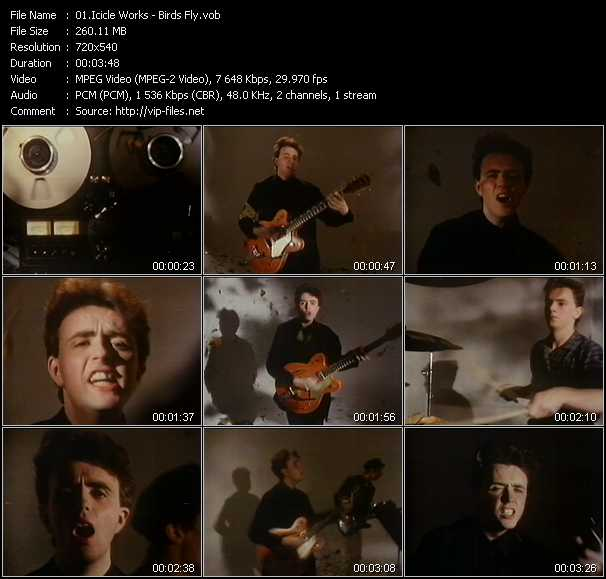 Icicle Works video screenshot