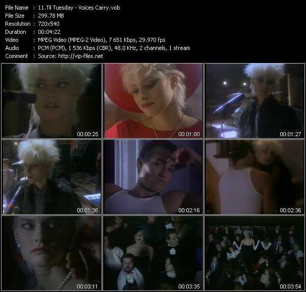 Til Tuesday video screenshot