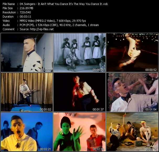 Swingers video screenshot