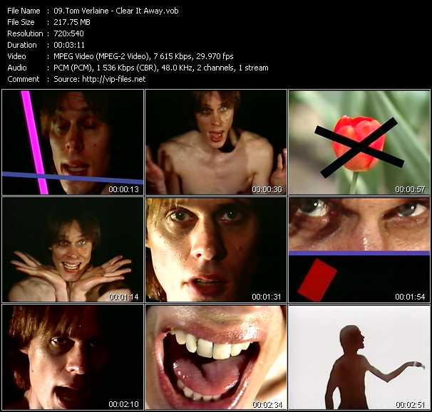 Tom Verlaine video screenshot