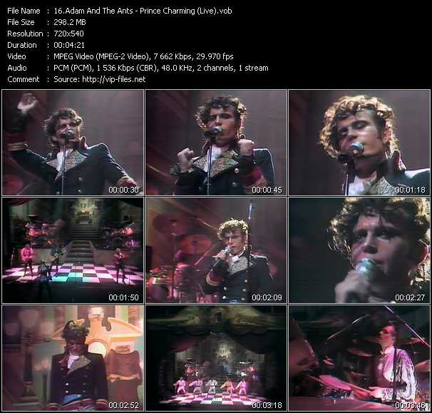 Adam And The Ants video screenshot