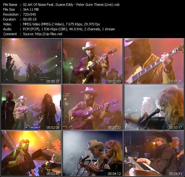 Art Of Noise Feat. Duane Eddy video screenshot