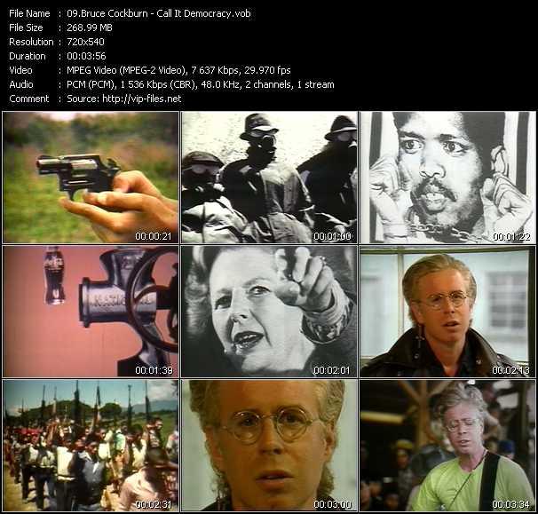 Bruce Cockburn video screenshot