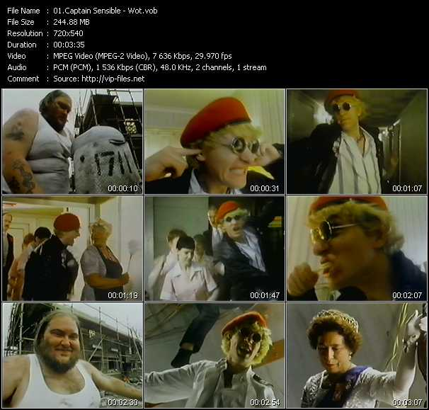 Captain Sensible video screenshot