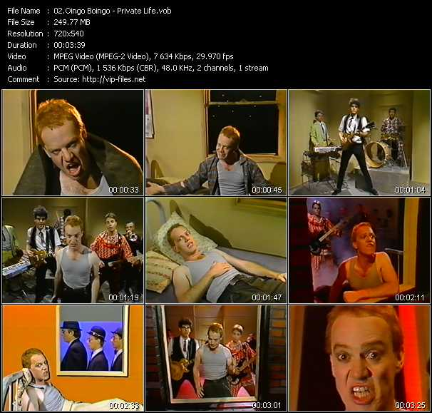 Oingo Boingo video screenshot
