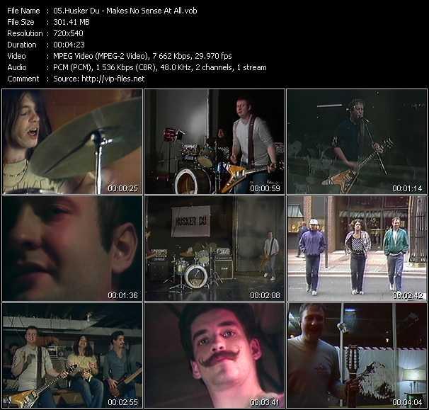 Husker Du video screenshot