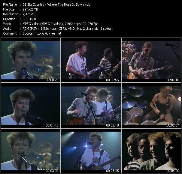 Big Country video screenshot
