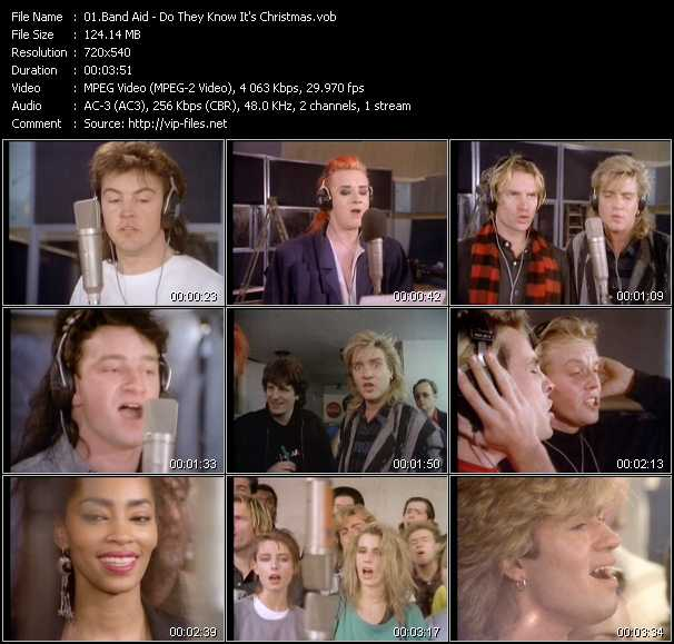 Band Aid video screenshot