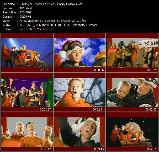 N'Sync video screenshot
