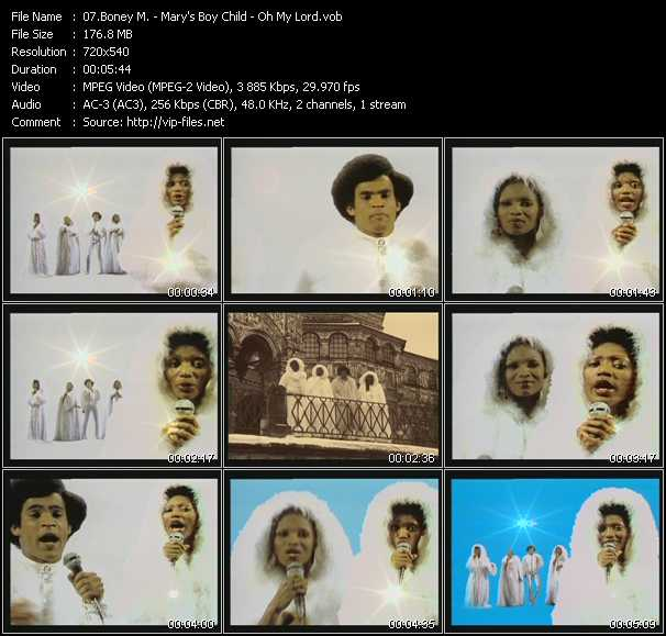 Boney M. video screenshot
