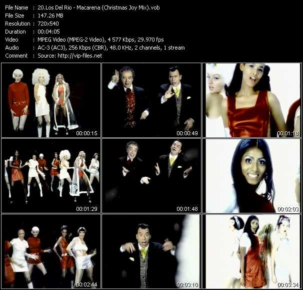 video Macarena (Christmas Joy Mix) screen