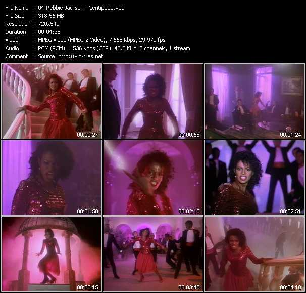 Rebbie Jackson video screenshot