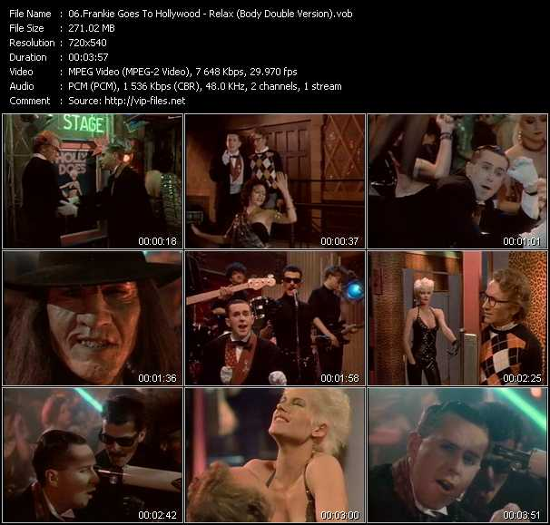 Frankie Goes To Hollywood video screenshot