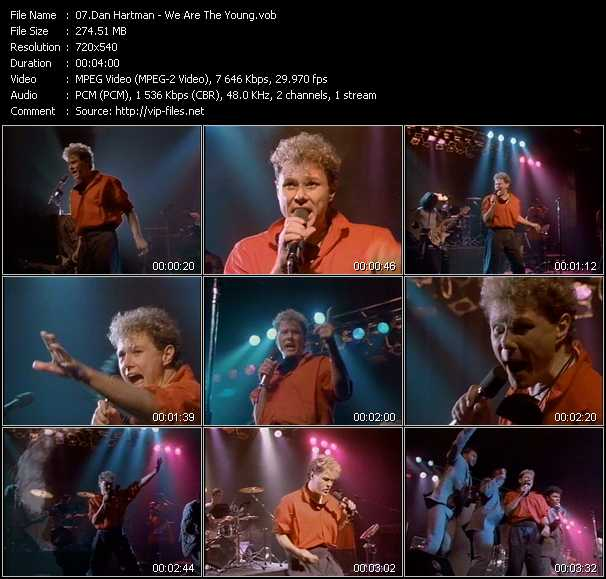 Dan Hartman video screenshot