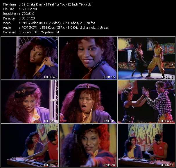 Chaka Khan video screenshot
