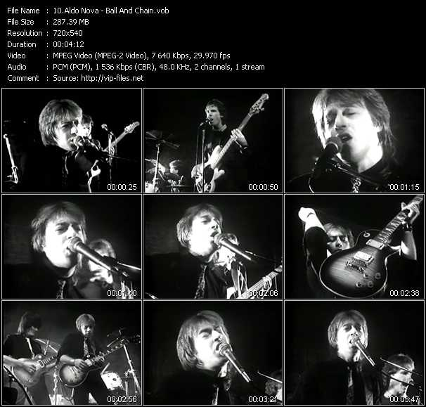 Aldo Nova video screenshot