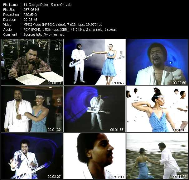 George Duke video screenshot